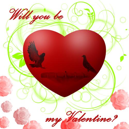 My Dove Valentine