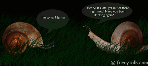 Martha and Henry - Funny Snails