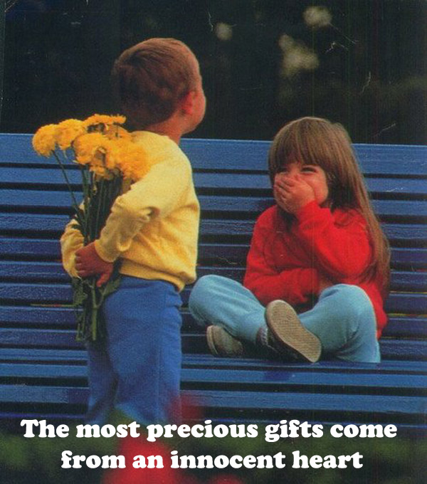 A Beautiful Gift [cute photo]