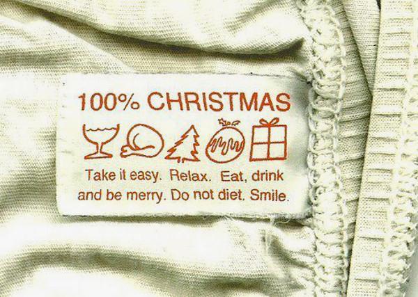 Christmas DOs and DON'Ts [funny label]