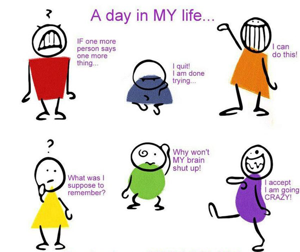 Regular Day in My Life [humor comic]