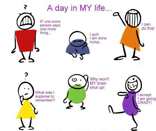 Regular Day in My Life [humor comic]