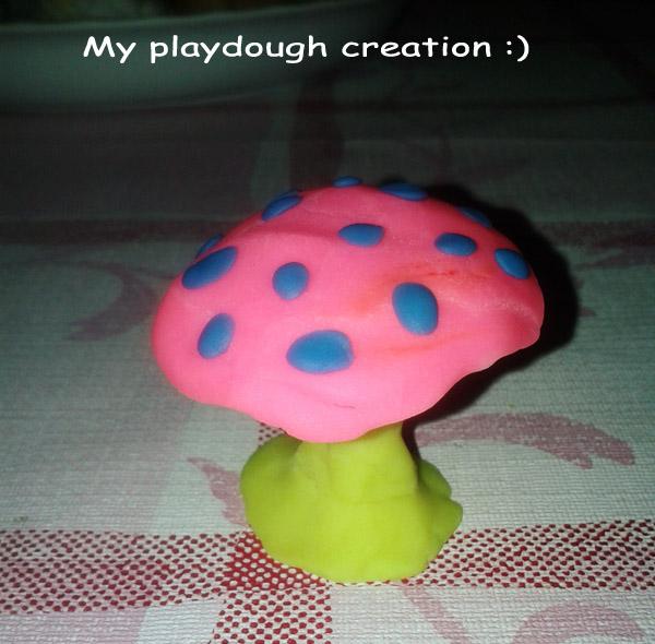 Ever Missed Playdough? I Did [mushroom photo]