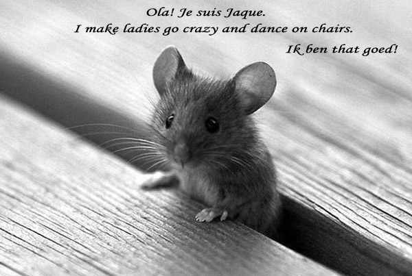 Why Are People Afraid of Mice? [see Jaque's photo]