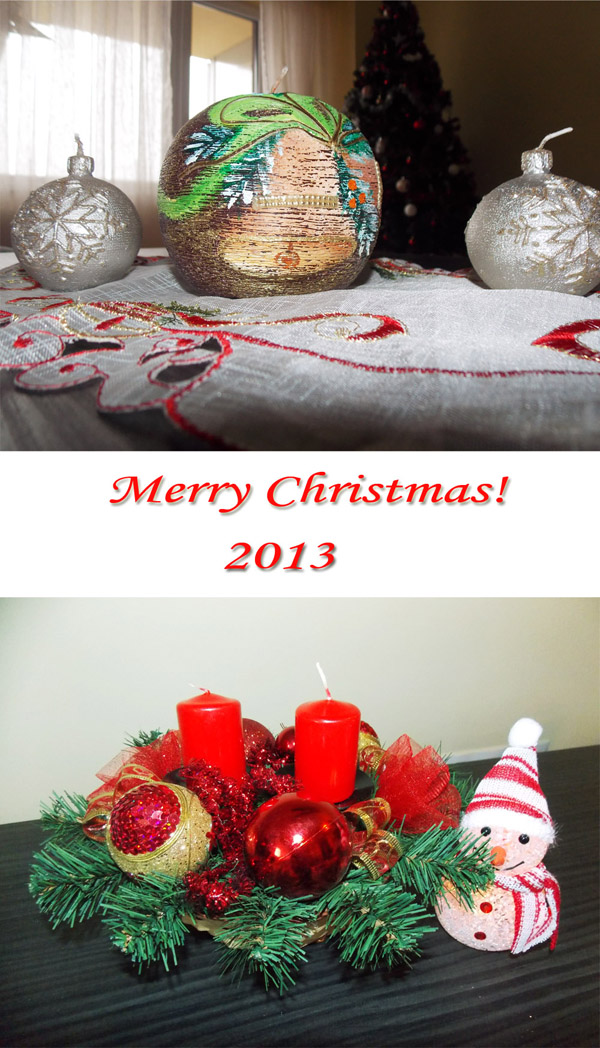 Merry Christmas 2013! [postcard photos]