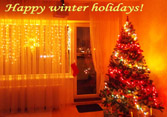 Happy Winter Holidays [photo with love, from home