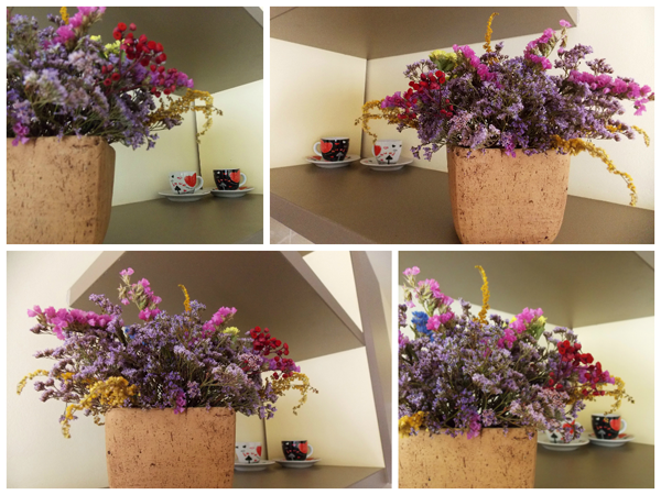 My Personal Home Decoration [flowers pot]