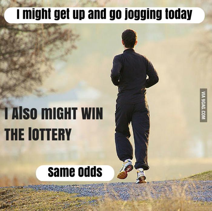 Funny Statement [jogging photo]